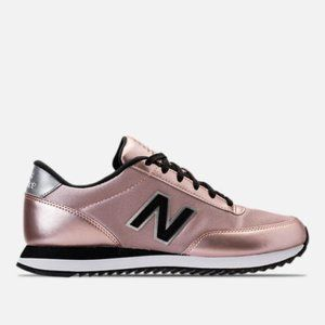AUTHENTIC New Balance 501 Metallic Iced Pink